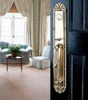 Ornate Door Hardware