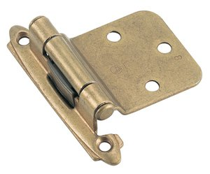 Amerock BP7630BB Burnished Brass Variable Hinge from the Self-Closing Collection