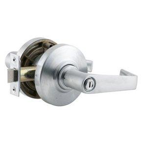 Schlage Al40s Sat Saturn Privacy Door Lever Set